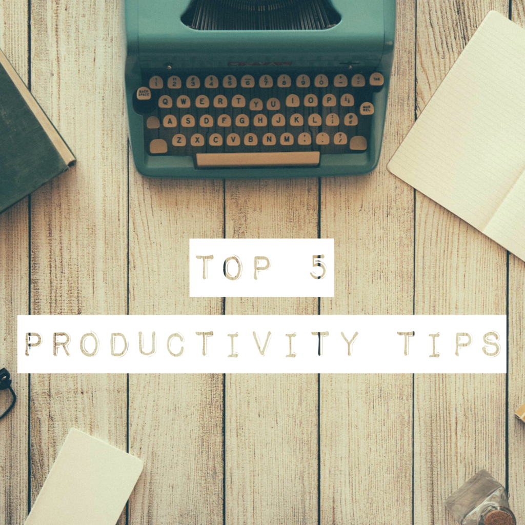 Top 5 Productivity Tips Miss Bonnie MD